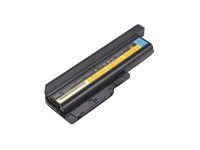 40Y6797 - Lenovo - Laptop battery - 1 x Lithium Ion 9-cell 7800 mAh - for ThinkPad T60 2007; T60 1951; T61 6466; T500 2055; R61 7732, 7733, 7734, 7735; R60 9460 40Y6797