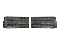 WS-C2960X-24PS-L - Cisco Catalyst 2960X-24PS-L - Switch - Managed - 24 x 10/100/1000 (PoE+) + 4 x Gigabit SFP - desktop, rack-mountable - PoE+ (370 W) WS-C2960X-24PS-L