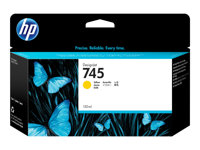 F9J96A - HP 745 - 130 ml - yellow - original - DesignJet - ink cartridge - for DesignJet Z2600 PostScript, Z5600 PostScript F9J96A