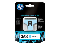 C8774EE#UUS - HP 363 - 5.5 ml - light cyan - original - ink cartridge C8774EE#UUS