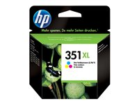CB338EE#UUS - HP 351XL - 14 ml - High Yield - colour (cyan, magenta, yellow) - original - ink cartridge - for Deskjet D4268; Officejet J6413; Photosmart C4450, C4470, C4472, C4524, C4585, C5225, C5288 CB338EE#UUS