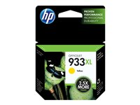 CN056AE#BGY - HP 933XL - High Yield - yellow - original - ink cartridge - for Officejet 6100, 6600 H711a, 6700, 7110, 7510, 7610, 7612 CN056AE#BGY