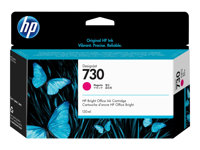 P2V63A - HP 730 - 130 ml - magenta - original - DesignJet - ink cartridge - for DesignJet T1700, T1700 PostScript, T1700dr, T1700dr PostScript P2V63A