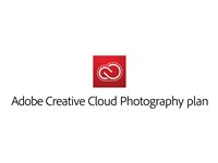65264279 - Adobe Creative Cloud Photography Plan - Subscription licence (1 year) - 1 user - Consignment - ESD - POSA Redemption Code - Win, Mac - EU English 65264279