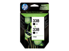 HP 338 - 2-pack - 11 ml -
