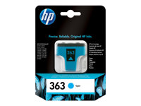 C8771EE#UUS - HP 363 - 4 ml - cyan - original - ink cartridge C8771EE#UUS