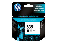 C8767EE#UUS - HP 339 - 21 ml - black - original - ink cartridge - for Officejet 63XX, 72XX, K7100, K7103; Photosmart 26XX, 81XX, D5060, D5065, D5155, D5156 C8767EE#UUS