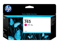 F9J95A - HP 745 - 130 ml - magenta - original - DesignJet - ink cartridge - for DesignJet Z2600 PostScript, Z5600 PostScript F9J95A